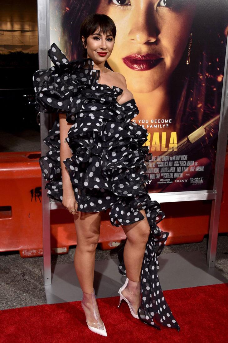 Jackie Cruz at Miss Bala Premiere in Los Angeles