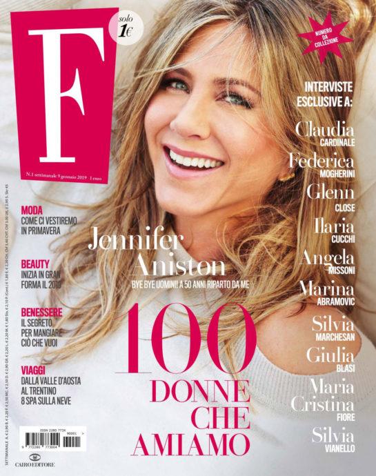 Jennifer Aniston in F. N1 Magazine (January 2019)