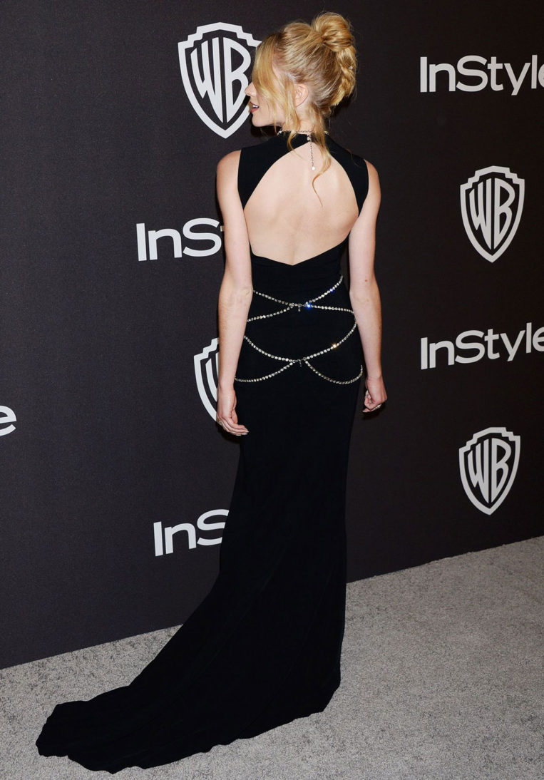 Katherine McNamara at InStyle and Warner Bros Golden Globes 2019 After Party