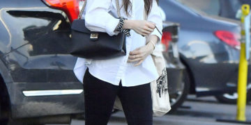 Lily Collins Out Shopping in West Hollywood