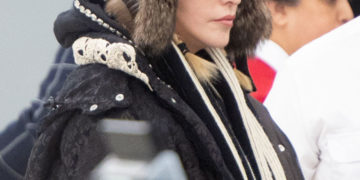 Madonna Out and About in New York