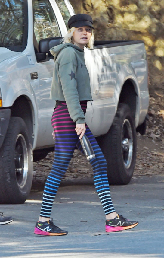 Malin Akerman Out for Hiking in Los Angeles