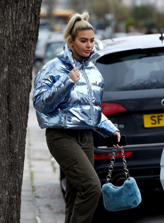 Megan Barton-Hanson Out and About in London