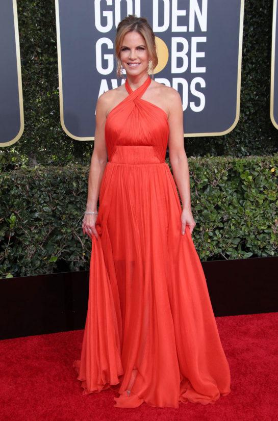Natalie Morales at 2019 Golden Globe Awards