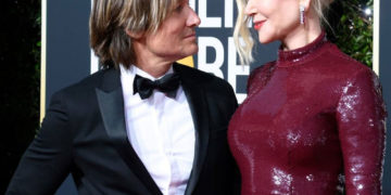 Nicole Kidman and Keith Urban at 2019 Golden Globe Awards