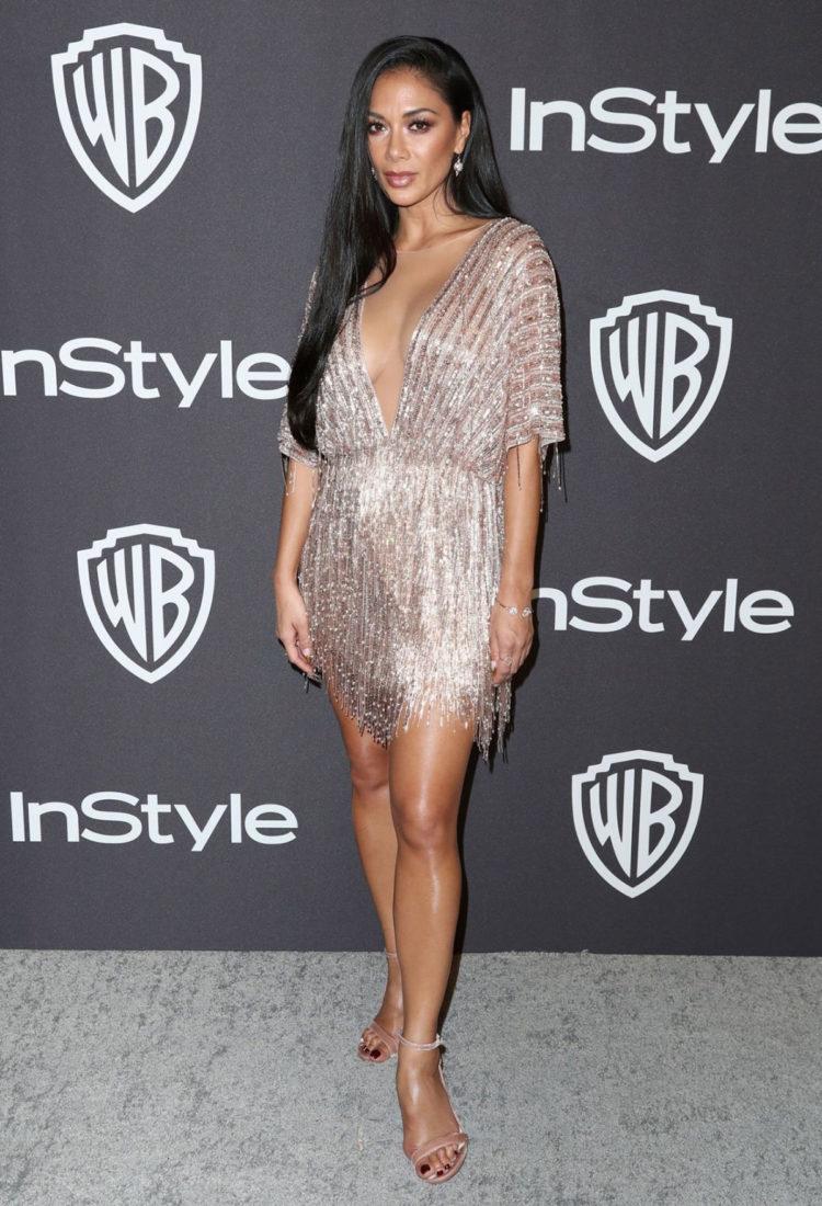 Nicole Scherzinger at InStyle and Warner Bros Golden Globes 2019 After Party