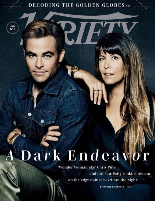 Patty Jenkins and Chris Pine in Variety Magazine (January 2019)