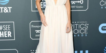 Poppy Delevingne at 2019 Critics' Choice Awards in Santa Monica