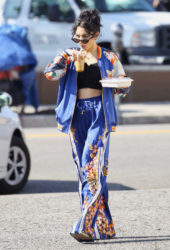 Vanessa Hudgens Out and About in Los Feliz