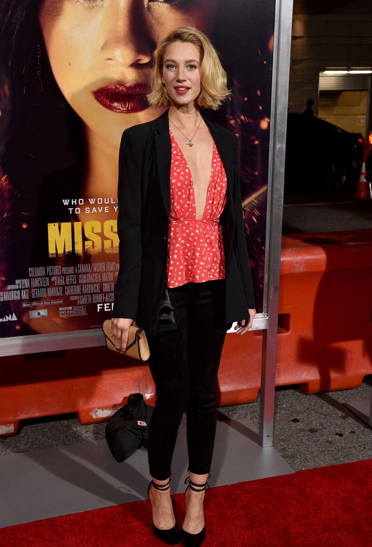 Yael Grobglas at Miss Bala Premiere in Los Angeles