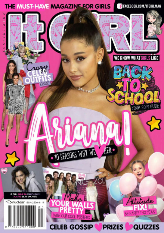 Ariana Grande in It GiRL Magazine (March 2019)