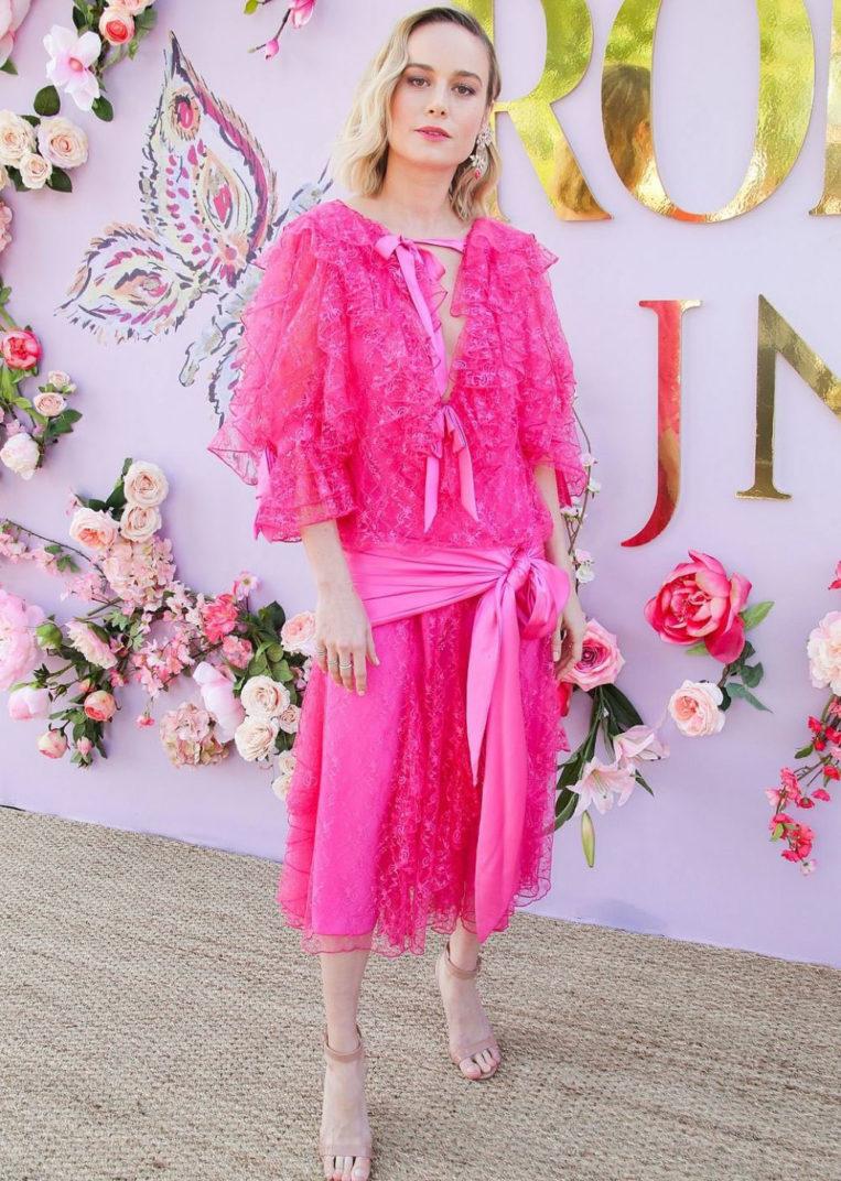 Brie Larson at Rodarte Fashion Show in San Marino