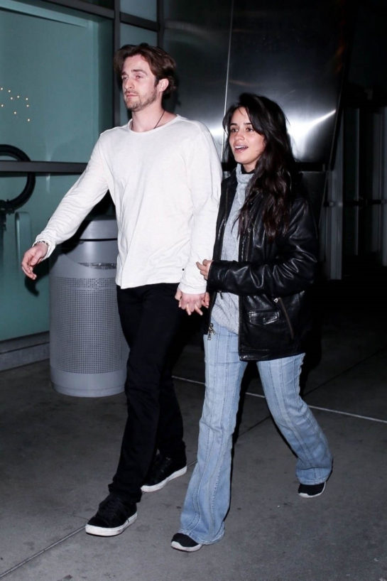 Camila Cabello and Matthew Hussey Night Out in Hollywood