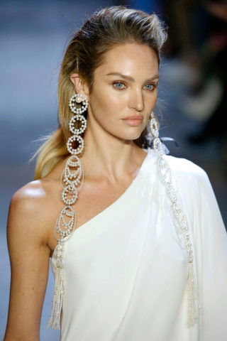 Candice Swanepoel at Prabal Gurung Fashion Show in NYC