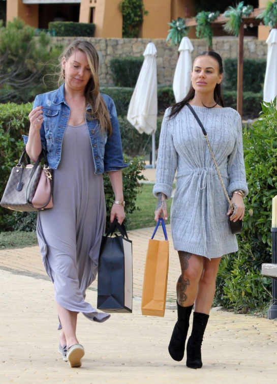 Chantelle Connelly Out and About in Marbella