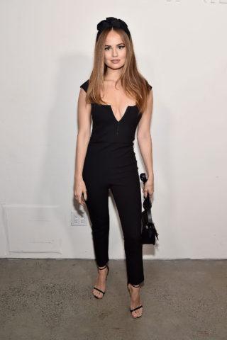 Debby Ryan at Cushnie Fashion Show at New York Fashion Week