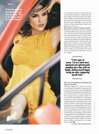 Eiza Gonzalez in Hola! US Magazine (March 2019)