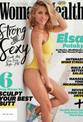 Elsa Pataky in Women's Health Magazine (March 2019)