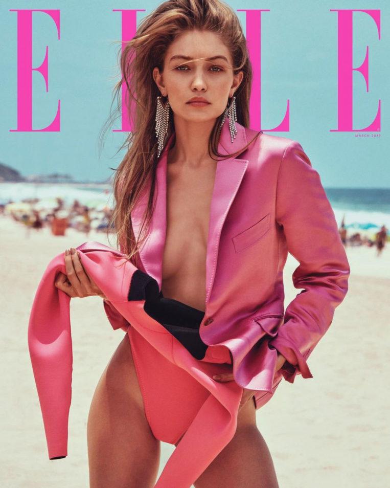 Gigi Hadid for Elle Magazine (March 2019)