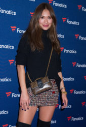 Jocelyn Chew at Fanatics Super Bowl party in Atlanta