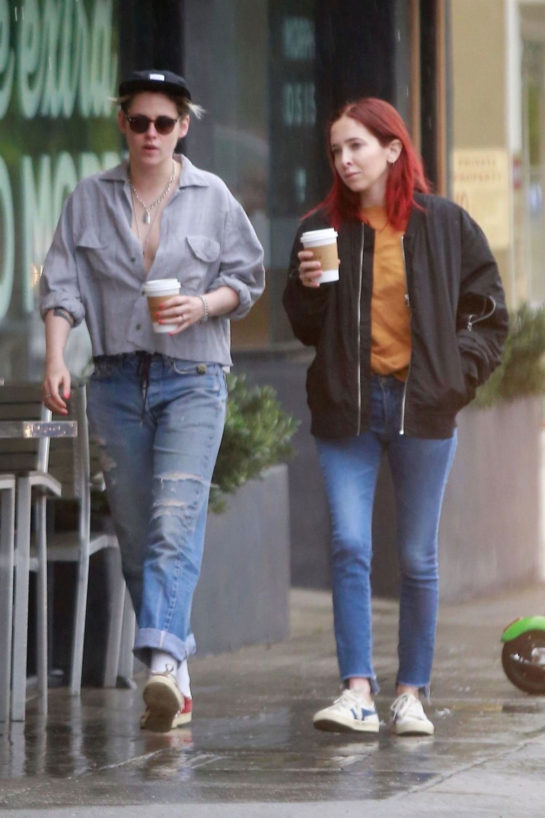 Kristen Stewart and Sara Dinkin Out in Los Feliz
