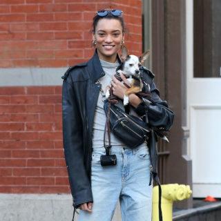Lameka Fox Out at New York Fashion Week