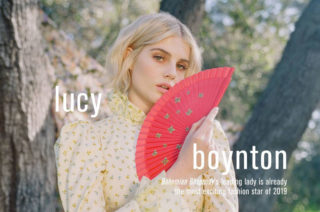 Lucy Boynton for Who What Wear Magazine (February 2019)