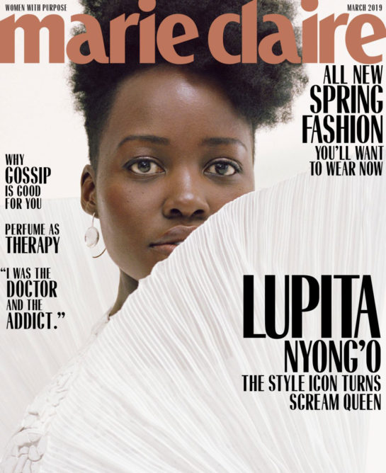 Lupita Nyong'o for Marie Claire Magazine (March 2019)