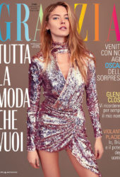 Martha Hunt in Grazia Magazine (Italy February 2019)