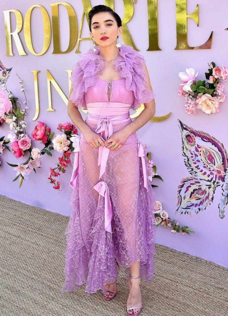 Rowan Blanchard at Rodarte Fashion Show in San Marino