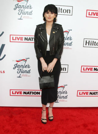 Rumer Willis at the Steven Tyler's Grammy Awards Viewing Party in Los Angeles
