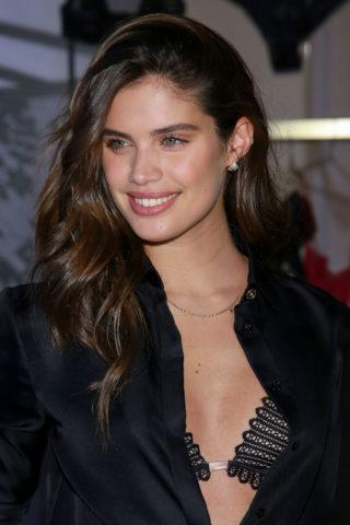 Sara Sampaio at Victoria's Secret Event in New York