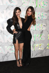 Victoria Justice and Madison Reed at Saks Celebrates New Main Floor in NYC