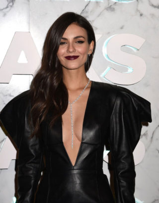 Victoria Justice at Saks Celebrates New Main Floor in New York City