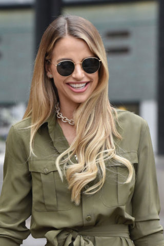 Vogue Williams Leaving the ITV Studios in London