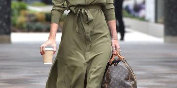 Vogue Williams Leaving the ITV Studios in London