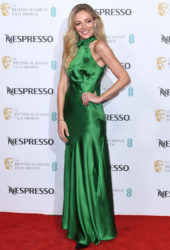 Clara Paget at BAFTA Nespresso Nominees Party in London