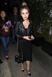 Brec Bassinger - Avenue Nightclub In Hollywood