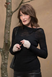 Carla Bruni – Chanel Forest Runway Show in Paris