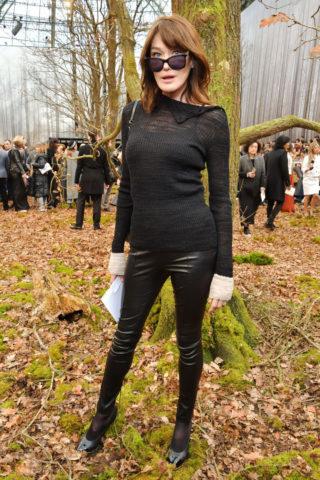Carla Bruni – Chanel Forest Runway Show in Paris