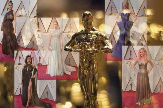 Celebrity Dresses - Oscars 2018