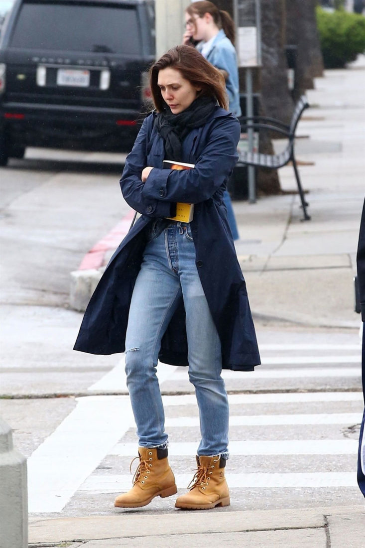 Elizabeth Olsen in Los Angeles