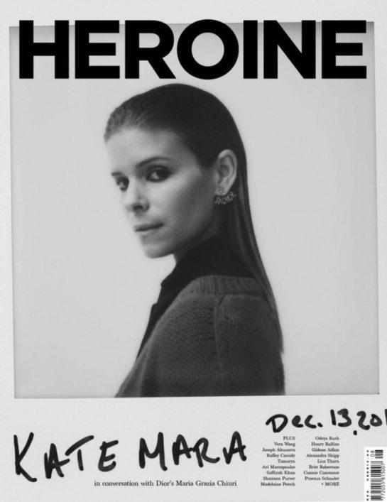 Kate Mara - Heroine Magazine (Spring 2018)