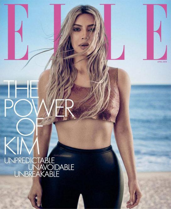 Kim Kardashian - Elle Magazine (April 2018)