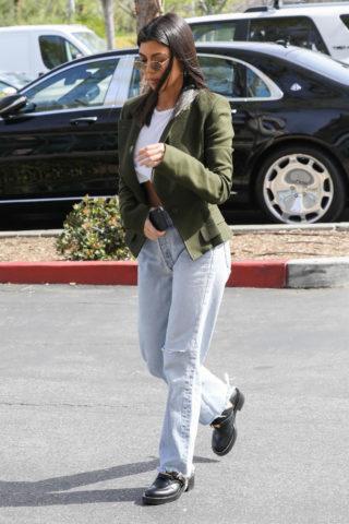 Kourtney Kardashian in Calabasas