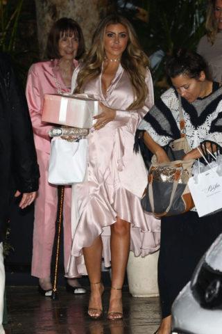 Larsa Pippen – Khloe Kardashian's Baby Shower
