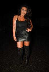 Lauren Goodger Night Out in Essex