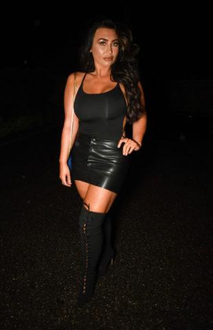 Lauren Goodger Night Out in Essex