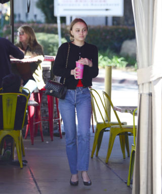 Lily-Rose Depp - Out in Los Angeles