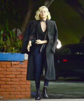 Margot Robbie Night Out in Hollywood